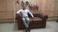 Как сделать диван Честерфилд своими руками